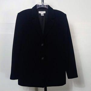 Preston York Premier Wool Cashmere Blazer Black 12